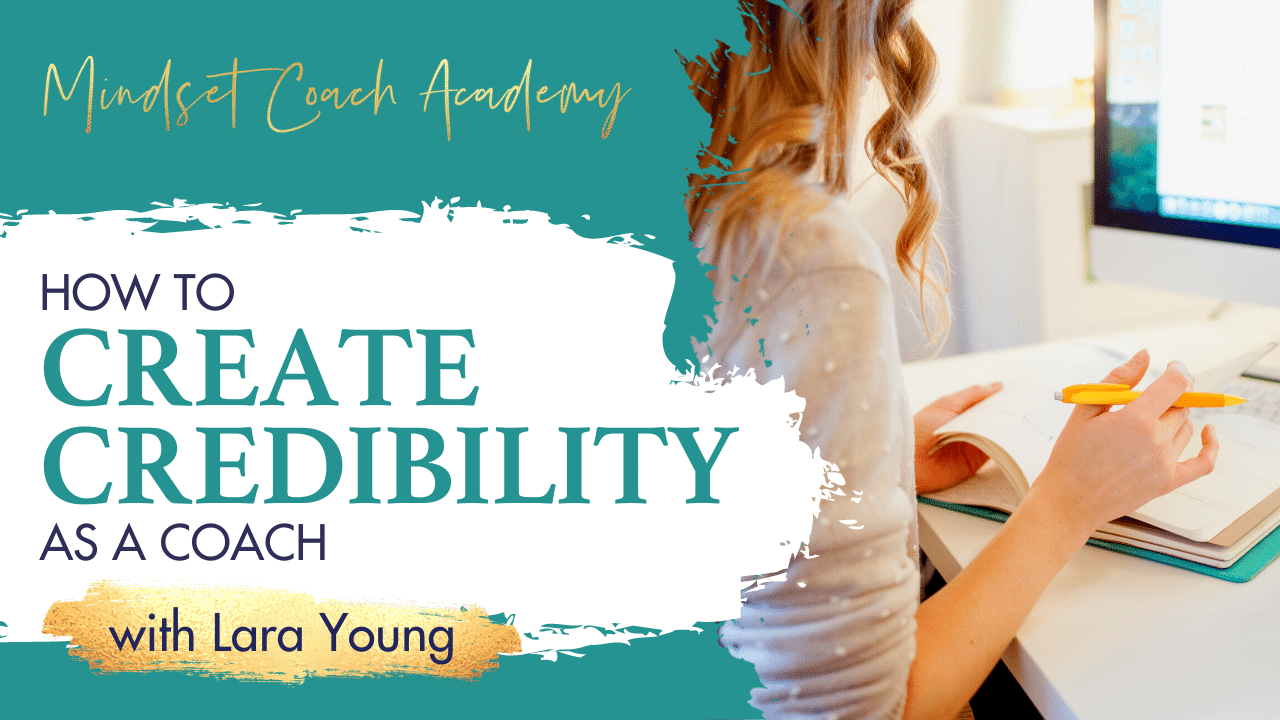 How do you gain credibility as a coach?