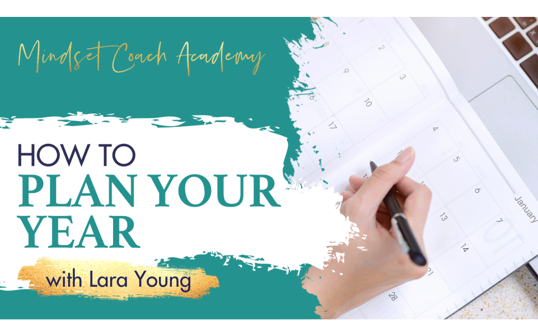 Episode 8: How to Plan Your Year