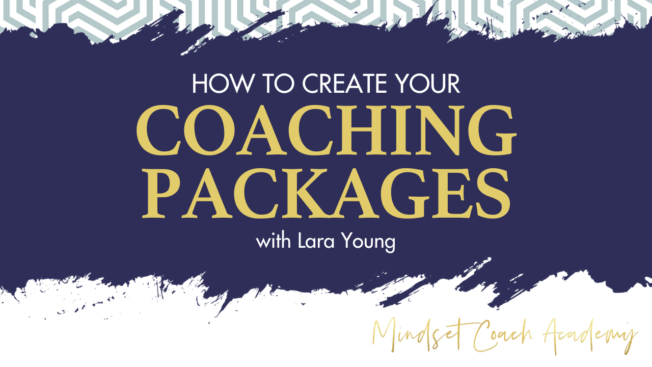 How to Create Your Coaching Packages